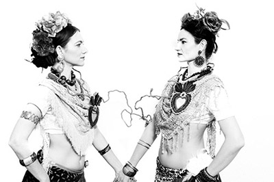 Tribal na Terra. Dancing Frida. Psyco Tribal | November, 2019